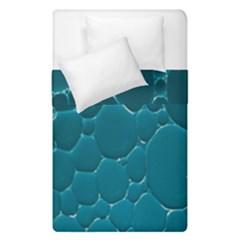 Water Bubble Blue Duvet Cover Double Side (single Size) by Alisyart