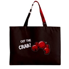 Cutthe Crab Red Brown Animals Beach Sea Zipper Mini Tote Bag by Alisyart