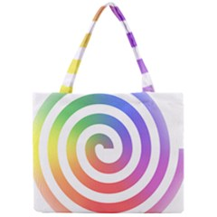 Circle Purple Blue Red Green Yellow Mini Tote Bag by Alisyart