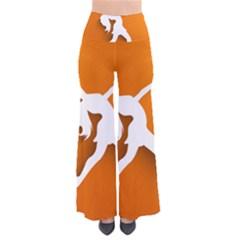 Dance Dancing Orange Girl Pants by Alisyart