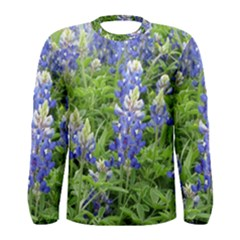 Blue Bonnets Men s Long Sleeve Tee