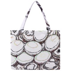 Eggs Mini Tote Bag by CannyMittsDesigns