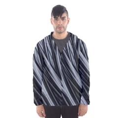Fractal Mathematics Abstract Hooded Wind Breaker (men) by Amaryn4rt