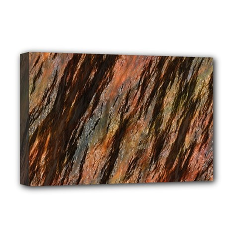 Texture Stone Rock Earth Deluxe Canvas 18  X 12