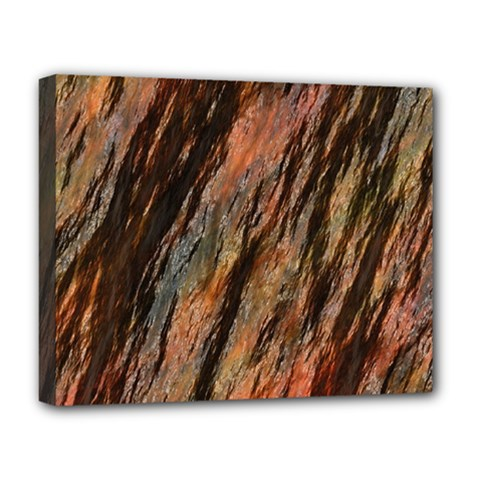 Texture Stone Rock Earth Deluxe Canvas 20  X 16   by Amaryn4rt