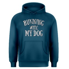 Running With My Dog   Men s Pullover Hoodie by FunnySaying
