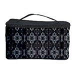 med gray orchid mandala Cosmetic Storage Case