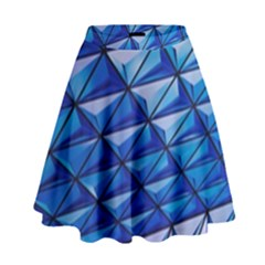 Lines Geometry Architecture Texture High Waist Skirt by Amaryn4rt