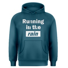 Running in the rain - Men s Pullover Hoodie by FunnySaying
