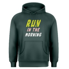 Run In The Morning   Men s Pullover Hoodie