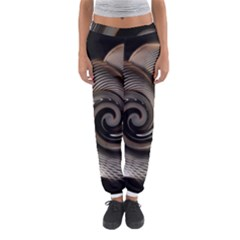 Abstract Background Curves Women s Jogger Sweatpants by Amaryn4rt
