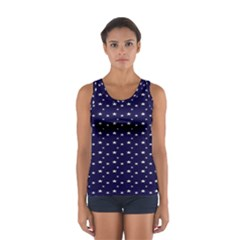 Blue Star Women s Sport Tank Top  by Alisyart