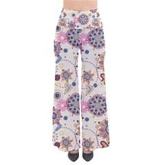 Flower Arrangements Season Floral Purple Love Heart Pants by Alisyart