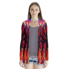 Color Batik Explosion Colorful Cardigans by Amaryn4rt