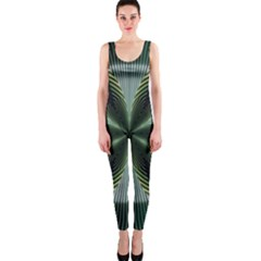 Lines Abstract Background Onepiece Catsuit by Amaryn4rt