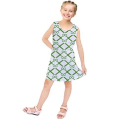 Scissor Green Kids  Tunic Dress by Alisyart