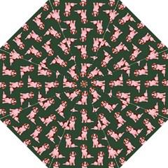 Dog Animal Pattern Golf Umbrellas by Amaryn4rt
