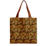 Autumn Leaves (Quilted) Zipper Grocery Tote Bag