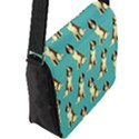 Dog Animal Pattern Flap Messenger Bag (L)  View2
