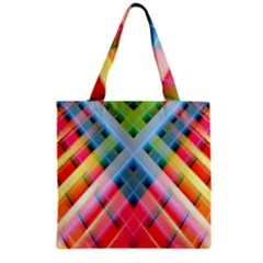 Graphics Colorful Colors Wallpaper Graphic Design Grocery Tote Bag by Amaryn4rt