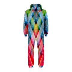 Graphics Colorful Colors Wallpaper Graphic Design Hooded Jumpsuit (kids)
