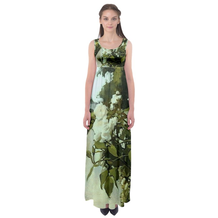 londonbridgerose NatureEmpire Waist Maxi Dress