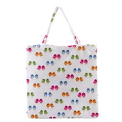 Pattern Birds Cute Design Nature Grocery Tote Bag by Amaryn4rt