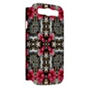 Flowers Fabric Samsung Galaxy S III Hardshell Case (PC+Silicone) View2