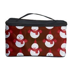 Card Cartoon Christmas Cold Cosmetic Storage Case by Amaryn4rt