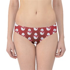 Card Cartoon Christmas Cold Hipster Bikini Bottoms by Amaryn4rt