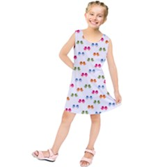 Pattern Birds Cute Design Nature Kids  Tunic Dress by Amaryn4rt