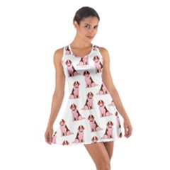 Dog Animal Pattern Cotton Racerback Dress