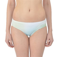 Color Musical Note Waves Hipster Bikini Bottoms