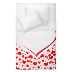 Love Red Hearth Duvet Cover (single Size)
