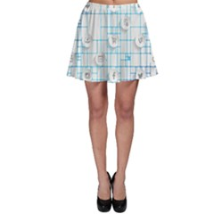 Icon Media Social Network Skater Skirt by Amaryn4rt