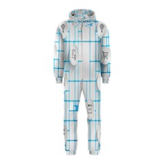 Icon Media Social Network Hooded Jumpsuit (Kids)