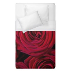 Roses Flowers Red Forest Bloom Duvet Cover (single Size) by Amaryn4rt