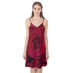 Roses Flowers Red Forest Bloom Camis Nightgown by Amaryn4rt