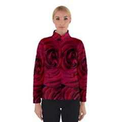 Roses Flowers Red Forest Bloom Winterwear by Amaryn4rt