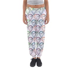 Valentine Hearts 3d Valentine S Day Women s Jogger Sweatpants by Amaryn4rt