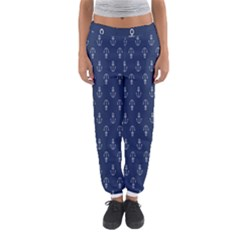 Anchor Pattern Women s Jogger Sweatpants by Amaryn4rt