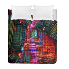 City Photography And Art Duvet Cover Double Side (full/ Double Size) by Amaryn4rt