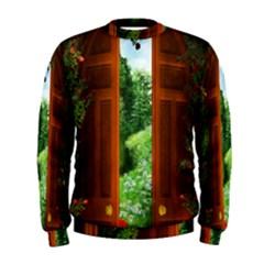 Beautiful World Entry Door Fantasy Men s Sweatshirt by Amaryn4rt