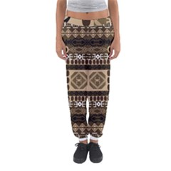 African Vector Patterns  Women s Jogger Sweatpants by Amaryn4rt