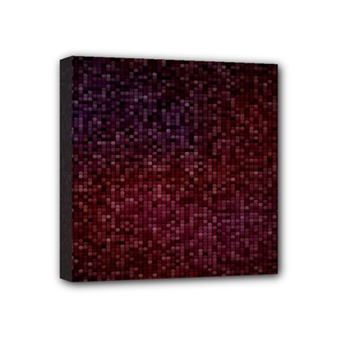 3d Tiny Dots Pattern Texture Mini Canvas 4  X 4