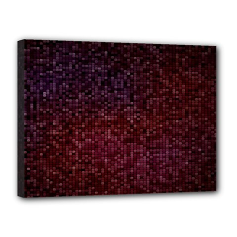 3d Tiny Dots Pattern Texture Canvas 16  X 12  by Amaryn4rt