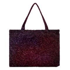 3d Tiny Dots Pattern Texture Medium Tote Bag by Amaryn4rt