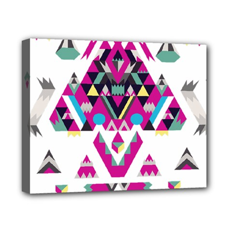 Geometric Play Canvas 10  X 8