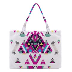 Geometric Play Medium Tote Bag by Amaryn4rt