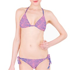 Pink And Purple Pool Bikini Set by jcreative